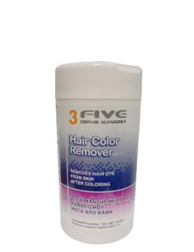 Drėgnos servetėlės FARCOM 3 Five Hair Color Remover 100 vnt.-0