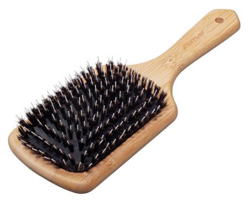 Plaukų šepetys šerno šeriais Bamboo Line 10 eilių Art. Nr. 7000764-0