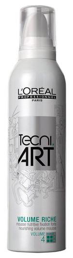 Plaukų putos L'Oreal Professionnel Tecni Art Full Volume Riche Mousse (4) 400ml-0
