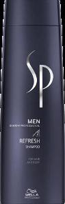 Šampūnas gaivinantis galvos odą Wella SP Men Refresh Shampoo 250 ml-0