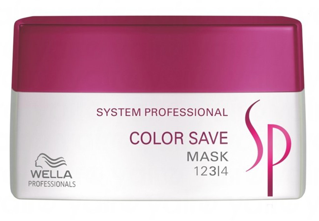 Kaukė dažytiems plaukams Wella SP Color Save Mask 200 ml-0