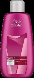 Bazė ilgalaikiam bangavimui dažytiems plaukams Wella Wave It Base Mild 250 ml-0