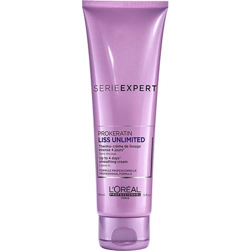Plaukų kremas su termoapsauga L'Oreal Liss Unlimited Keratinoil Comlex Thermo-Cream 150ml-0