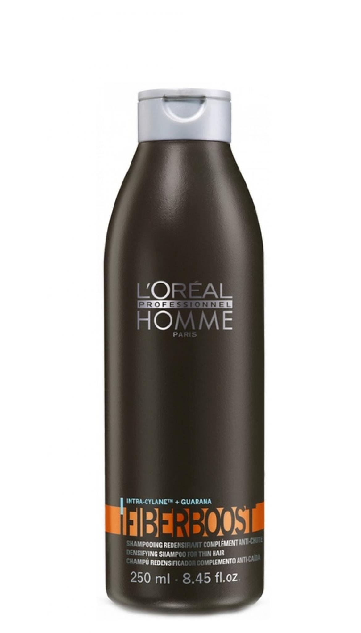 Šampūnas ploniems plaukams L'Oreal Professionnel Homme Fiberboost Shampoo 250ml-0