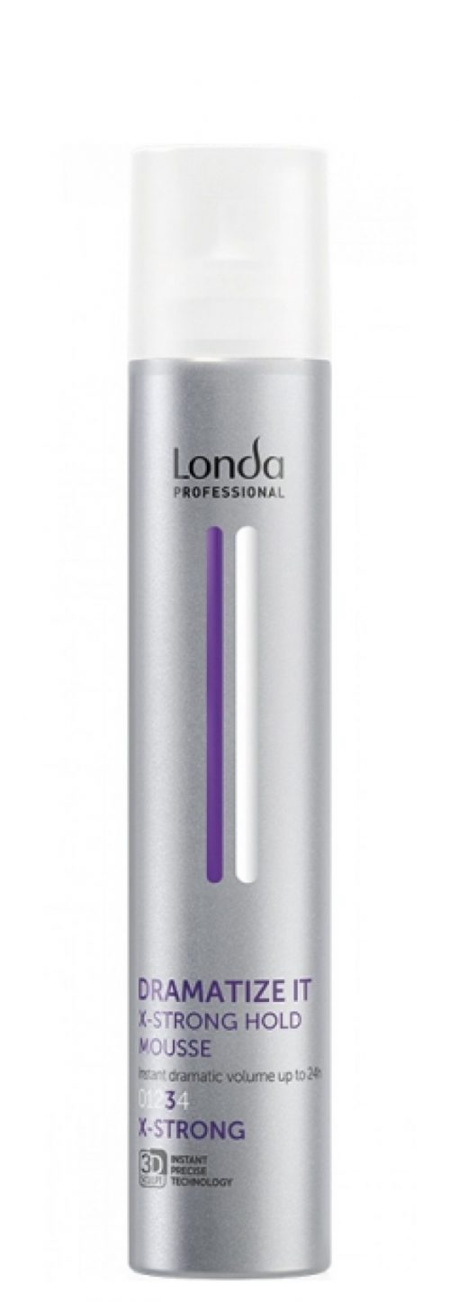 Plaukų putos LONDA Professional Dramatize It Volume Mousse Extra Strong 250ml-0