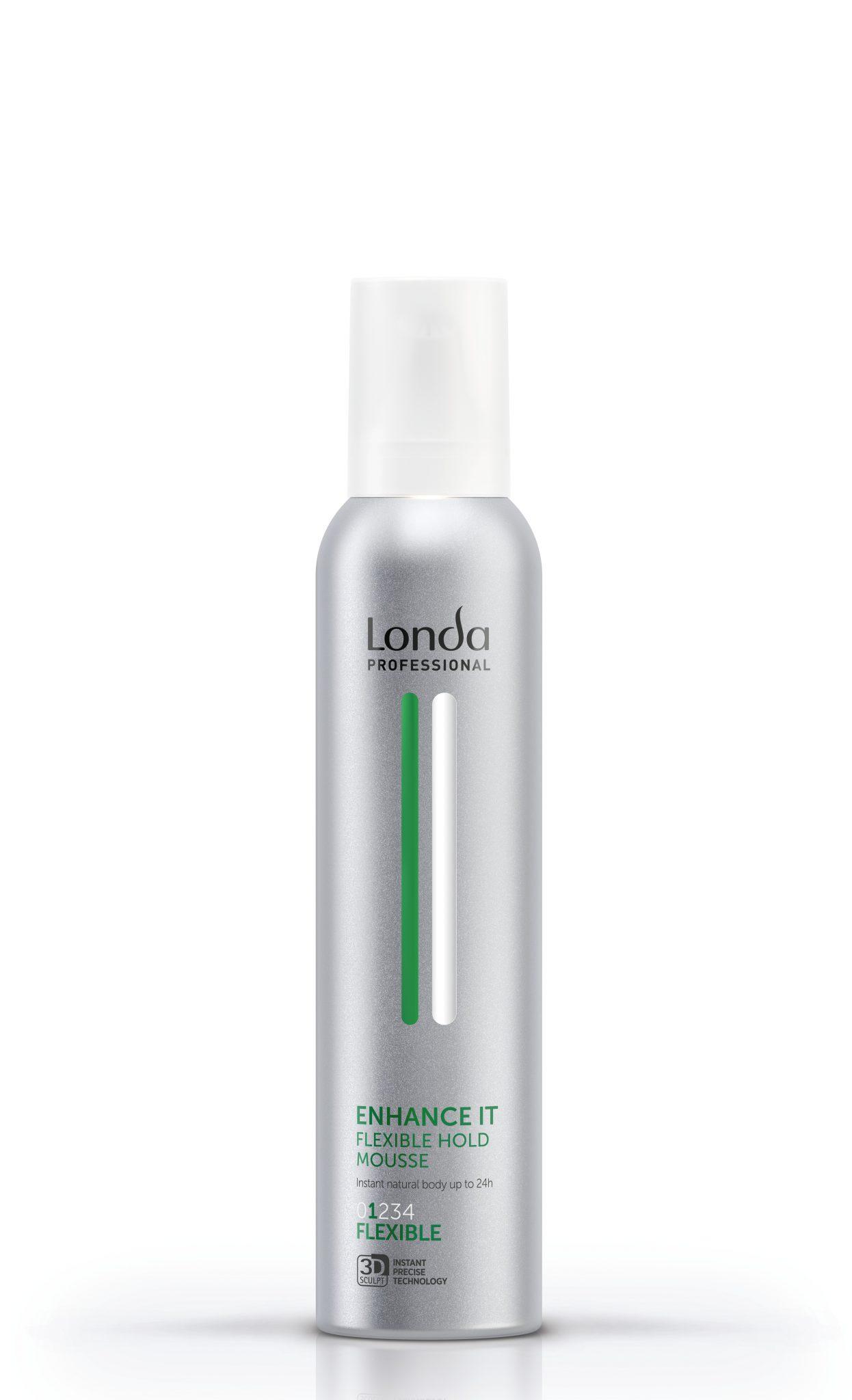 Plaukų putos LONDA Enhance It Mousse Flexible #1 250 ml-0