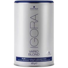 Plaukų šviesinimo milteliai Schwarzkopf Igora Vario Blond Plus (mėlyni) 450 g-0