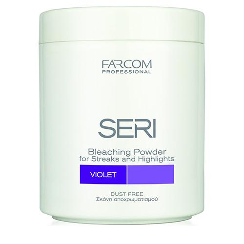 Plaukų šviesinimo milteliai SERI Maxitone Bleaching Powder (violetiniai) 500 g-0