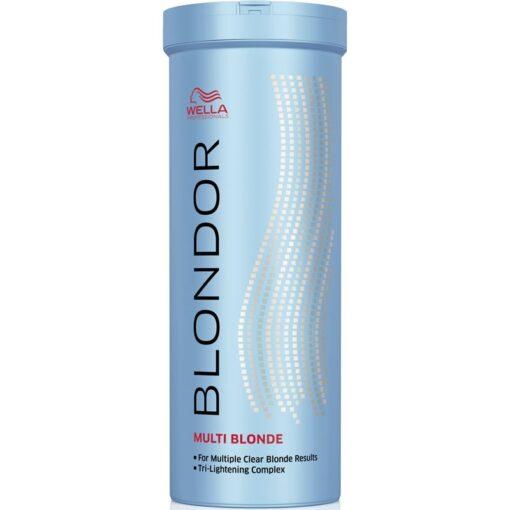 Šviesinimo milteliai Wella Blondor Multi Blonde Lightening Powder 400g-0