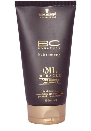 Kondicionierius plaukams su argano aliejumi Schwarzkopf Bonacure Oil Miracle Gold Shimmer 150ml -0