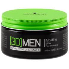 Vaškas plaukams Schwarzkopf [3D]MEN Molding Wax 100ml-0