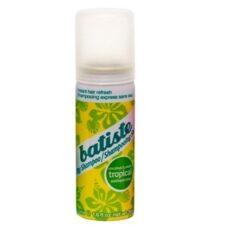 Sausas šampūnas plaukams BATISTE Coconut & exotic Tropical dry shampoo 50ml-0