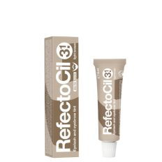 Antakių dažai RefectoCil Nr.3.1 šviesiai rudi 15 ml Art. Nr. 3080173-0