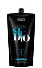 Oksidacinė emulsija L'Oreal Studio Blond 6% 20vol. 1000ml-0