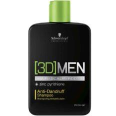 Šampūnas plaukams nuo pleiskanų Schwarzkopf [3D]MEN Anti-Dandruff Shampoo 250ml-0