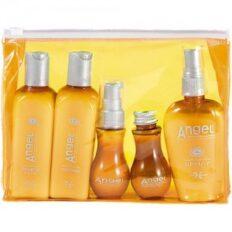 Testerių rinkinys krepšelyje sausiems ir normaliems plaukams Angel Marine Dry Neutral (5vnt)-0
