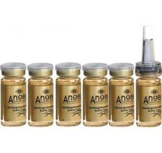 Tonikas - ampulės nuo plaukų slinkimo su ženšeniu Angel GinSeng Active Tonic 10mlx5 vnt. -0