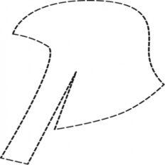 Kepurė vienkartinė (reljefinė) Comair (50 vnt.) Art. Nr. 3040021-0