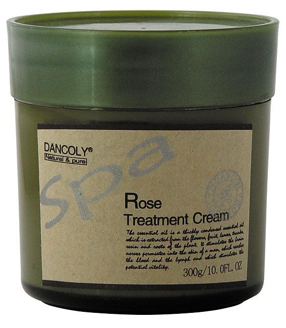 Aromatinis kremas-kaukė su rožių aliejumi Dancoly Spa Rose Treatment Cream 300 g-0