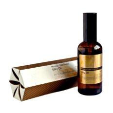 Plaukus švelninantis aliejus su spalvos apsauga Angel Morocco Color Protect Silky Oil 100 ml-0