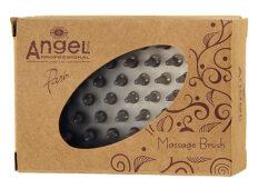 Masažinis plaukų šepetys Angel Professional Massage Brush-0