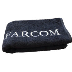 Juodas rankšluostis Farcom Seri 50x90 cm-0