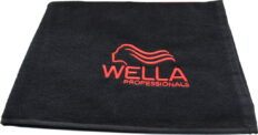 Juodas rankšluostis Wella -0
