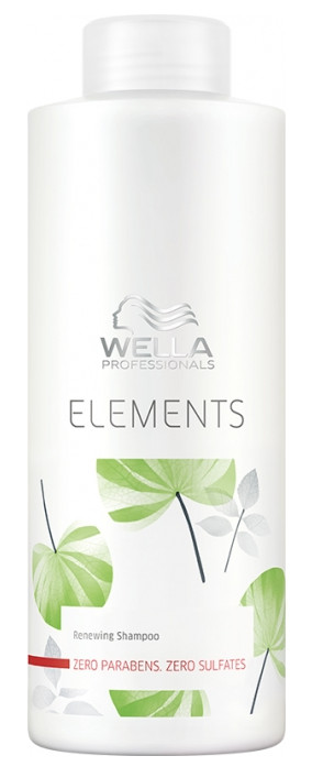 Atkuriamasis šampūnas Wella Elements Renewing shampoo 1000 ml-0