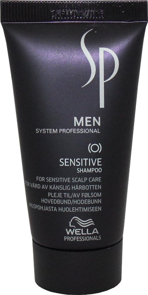 Raminantis šampūnas jautriai galvos odai Wella SP Men Sensitive Shampoo 30 ml-0