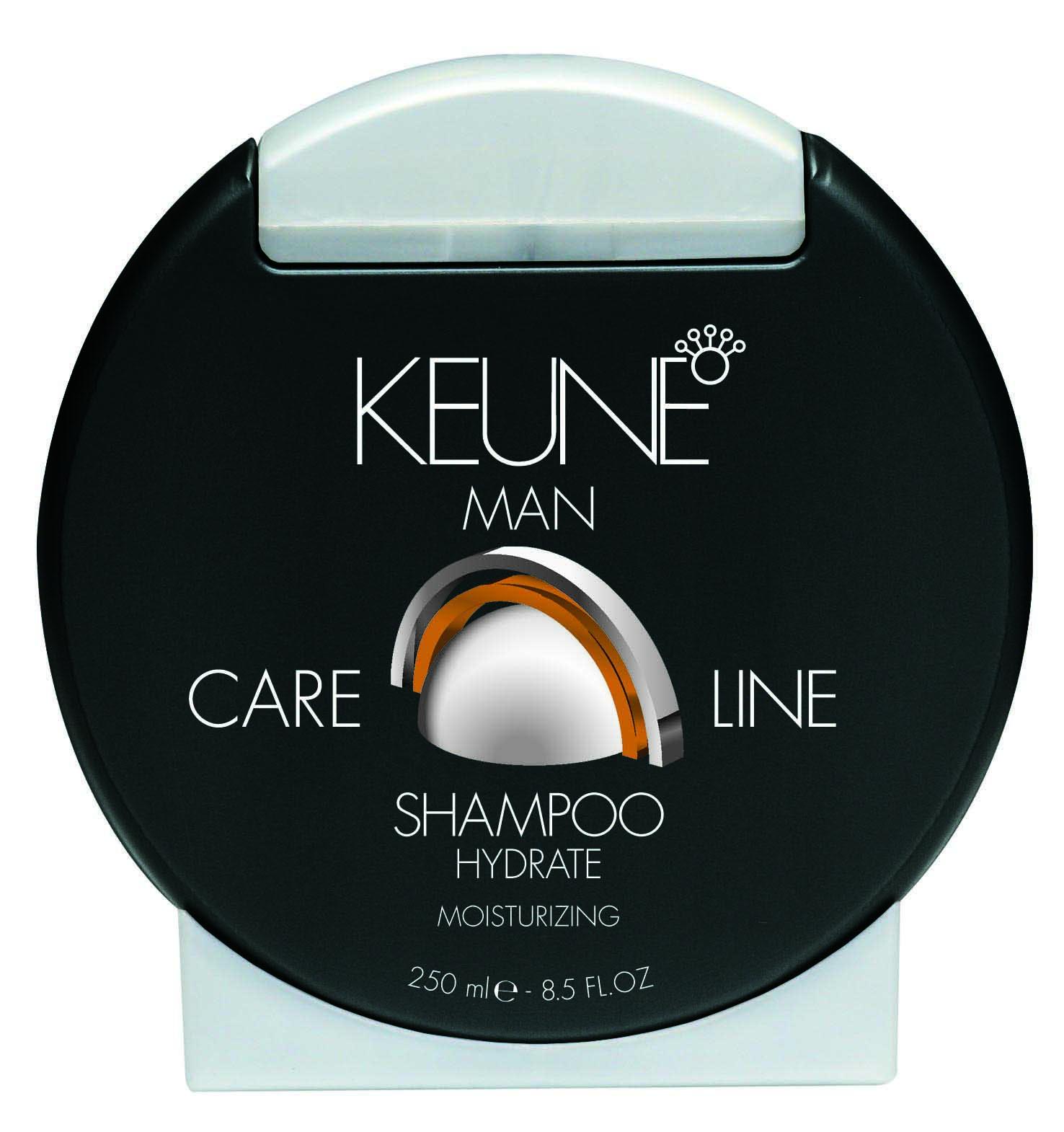Drėkinantis plaukų šampūnas Keune CL MAN Hydrate Shampoo (plaukams ir kūnui) 250 ml-0