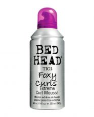 Putos garbanotiems plaukams TIGI Bed Head Foxy Curls Extreme Curl Mousse 250 ml-0