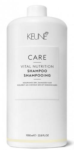 Šampūnas sausiems, pažeistiems plaukams Keune CL Vital Nutrition 1000 ml-0