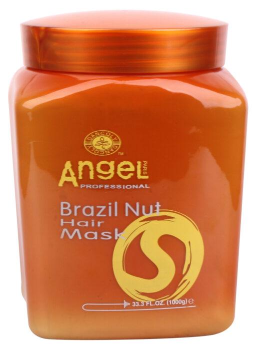 Kaukė sausiems ir pažeistiems plaukams Angel Brazil Nut Hair Mask 1000 ml-0