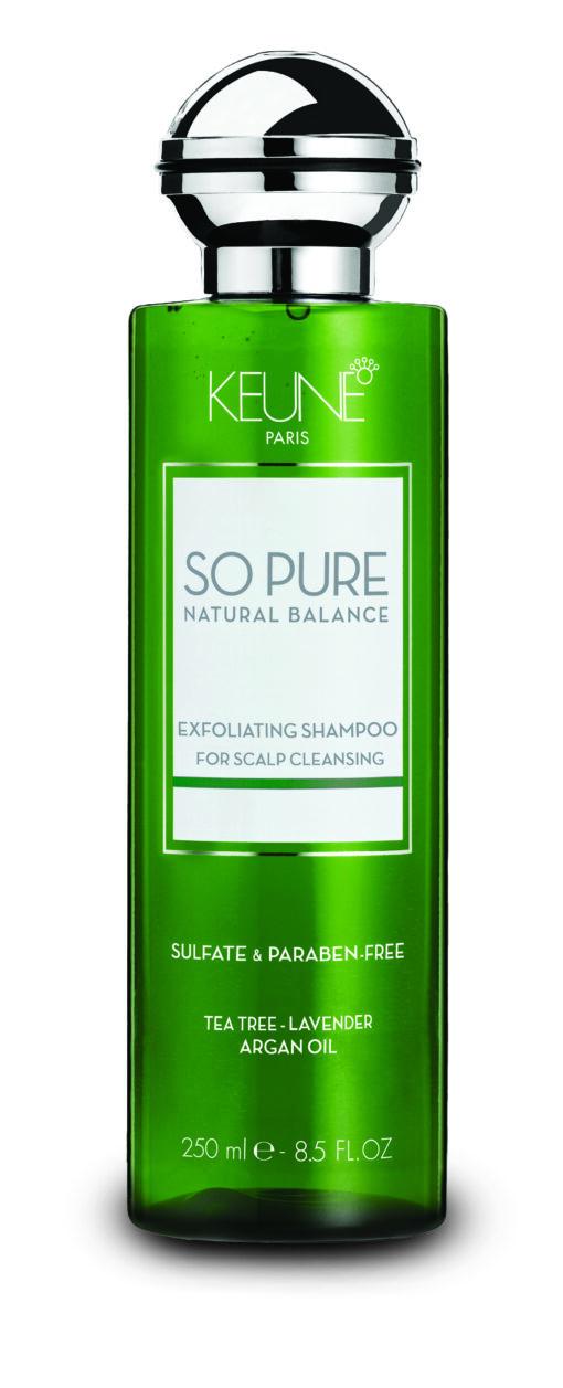 Šampūnas nuo pleiskanų Keune So Pure Exfoliating 250 ml-0