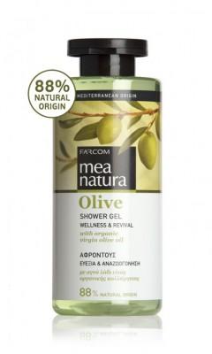 Dušo želė su alyvuogių aliejumi Farcom Mea Natura Olive Shower Gel 300ml-0