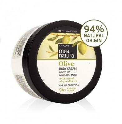 Kūno kremas su alyvuogių aliejumi Farcom Mea Natura Olive Body Cream 250ml-0