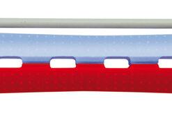 Suktukai cheminiam (skersmuo 11mm) 95mm, mėlyni/raudoni, 12 vnt-0