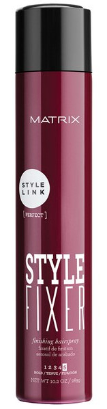 Labai stiprios fiksacijos lakas plaukams Matrix Style Link Style Fixer Finishing Hairspray (5) 400ml-0