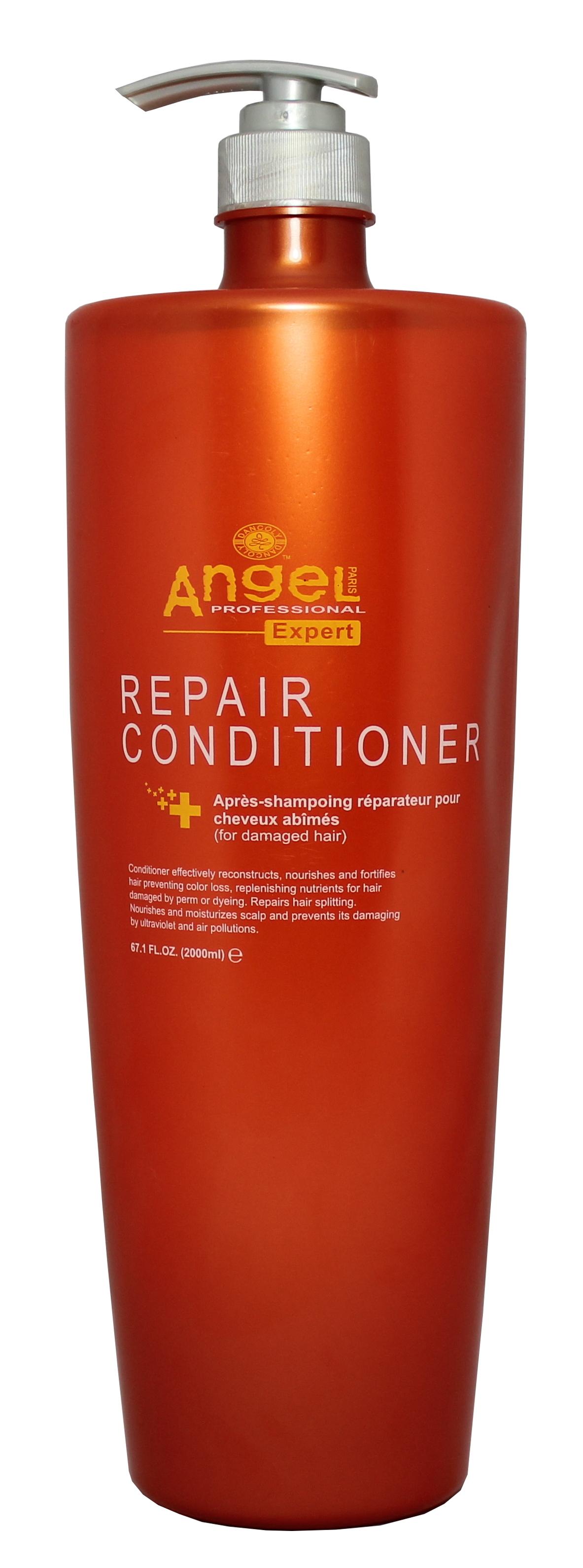 Drėkinantis kondicionierius, visų tipų plaukams Angel Professional Expert Moisturizing Conditioner 2000 ml-0