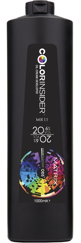 Oksidacinė emulsija 6% Matrix ColorInsider Oil-Cream Developer 1000 ml-0