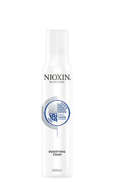 Plaukų apimtį didinančios putos Nioxin Bodifying Foam 200 ml-0
