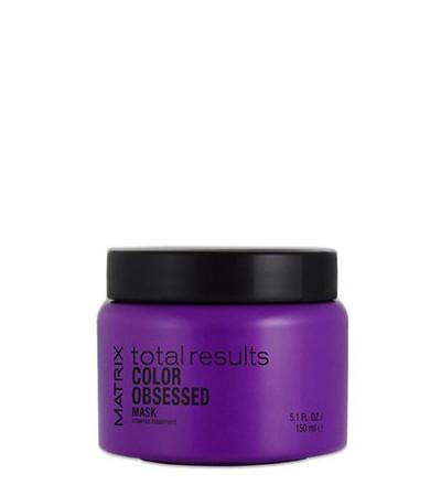 Plaukų spalvą apsauganti kaukė Matrix Total Results Color Obsessed Intense Treatment 150 ml-0