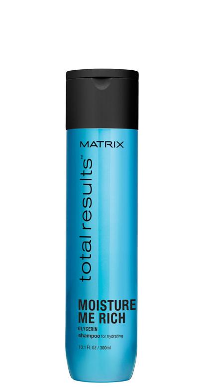 Plaukus drėkinantis šampūnas Matrix Total Results Moisture Me Rich shampoo 300 ml-0
