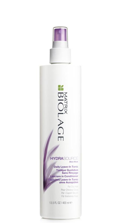 Nenuplaunamas, drėkinantis tonikas Matrix Biolage HydraSource Daily leave-In Tonic 400 ml -0