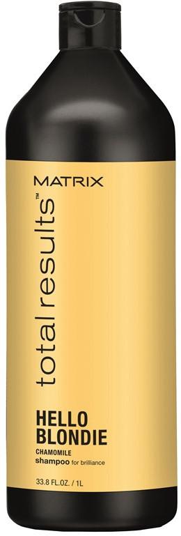 Šampūnas šviesiai dažytiems plaukams Matrix Total Results Hello Blondie 1000 ml-0