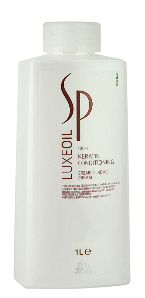 Keratiną atstatantis kondicionierius Wella SP LuxOil Keratin Conditioning Cream 1000 ml-0