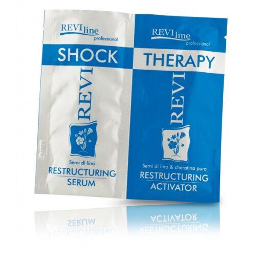 Serumas nualintiems plaukams Revi Shock + Therapy 12 + 12 ml-0