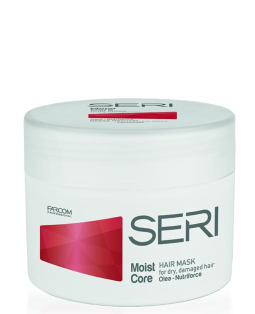 Plaukų kaukė sausiems, pažeistiems plaukams SERI Moist Core Hair Mask 300 ml-0