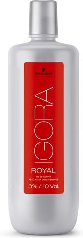Aktyvatorius Schwarzkopf Professional Igora Royal Oil Developer 3% 1000 ml-0