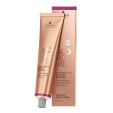Schwarzkopf BlondMe šviesintų arba natūraliai šviesių plaukų tonavimo kremas 60 ml